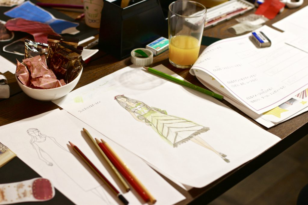デザイン教室 子どもの描いたデザインイラスト画