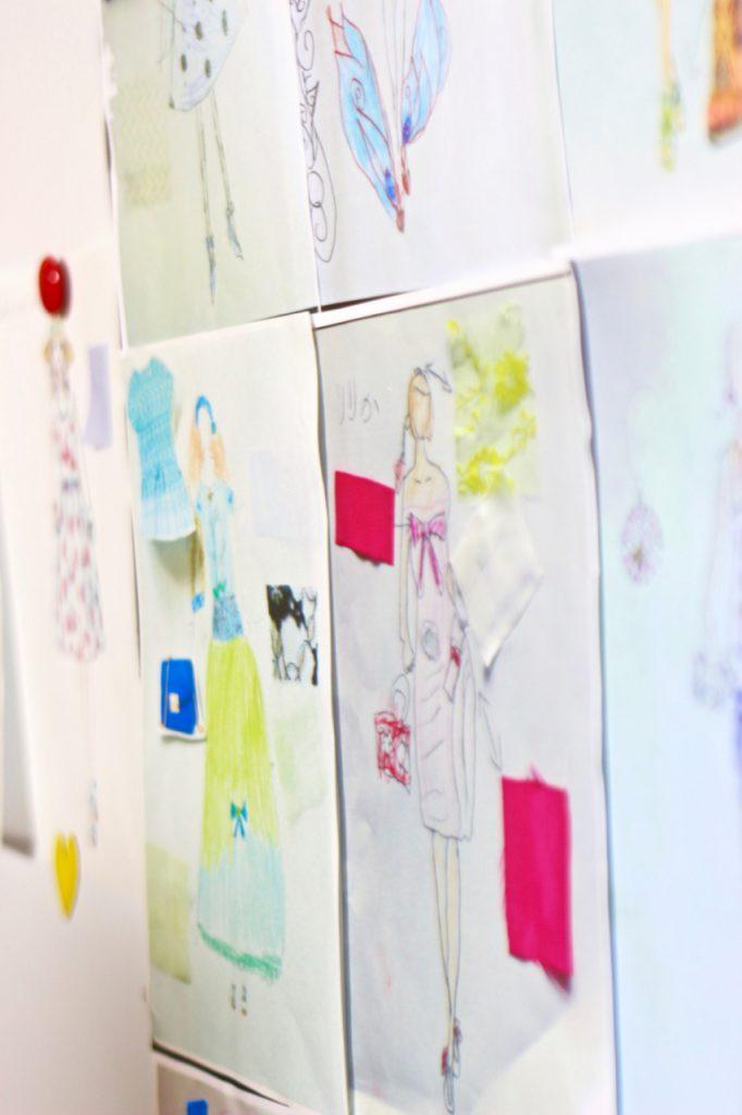 キッズデザイン教室 デザイン・イラスト画