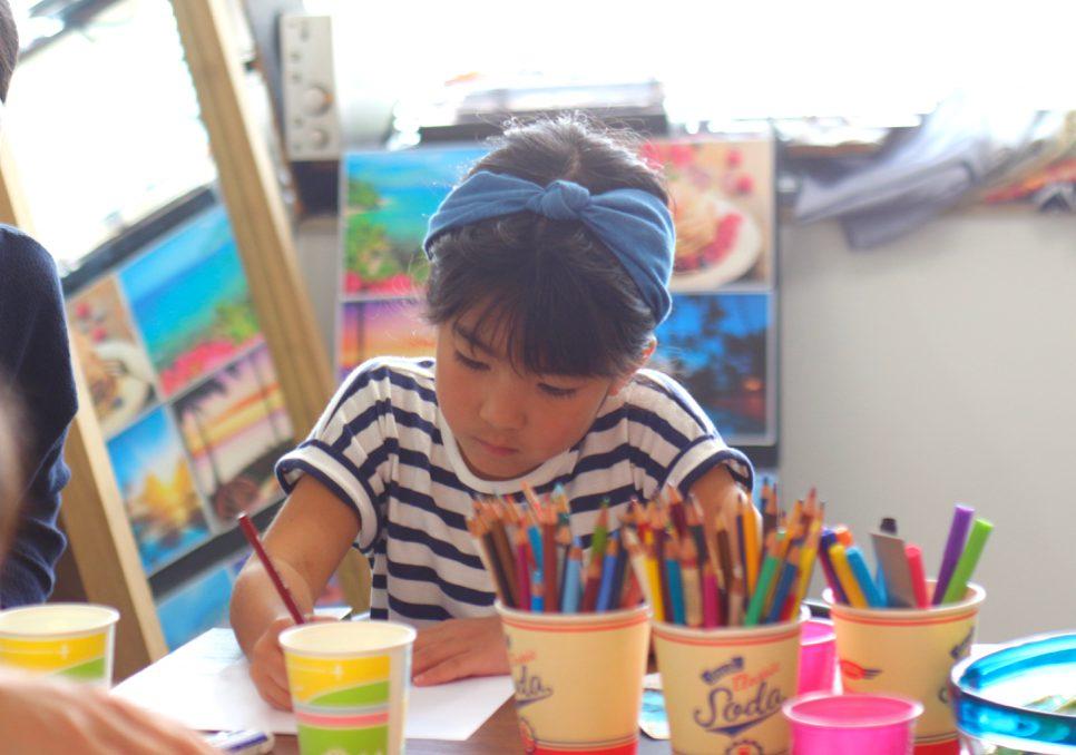 夏休み 子供デザイン教室 ワークショップ