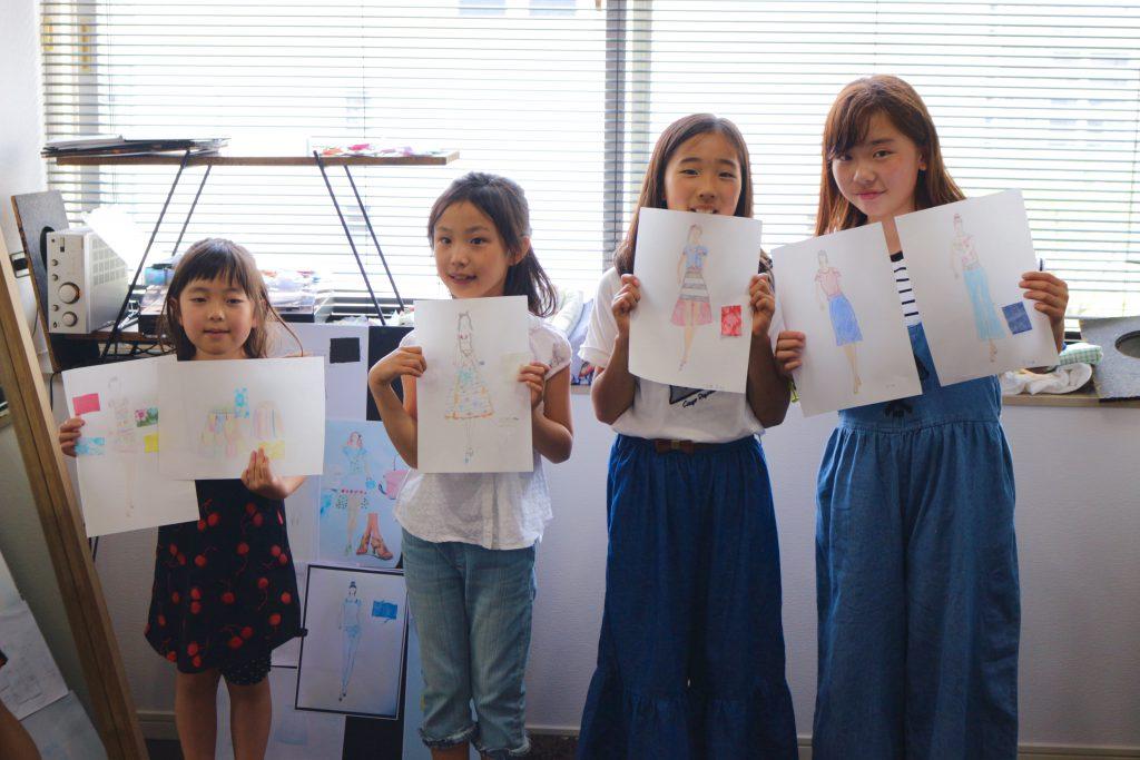 夏休み 子供デザイン教室